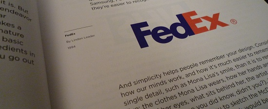 Logo Design Love FedEX