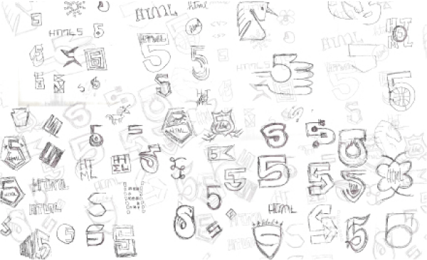 html5-logo-sketches