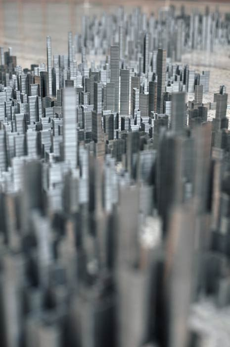 Artist Constructs a City of Staples [Video]