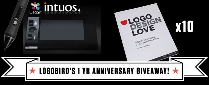 Logobird Anniversary Giveaway