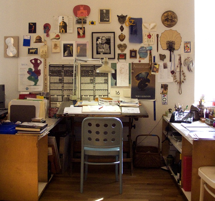 Milton Glaser's Desk