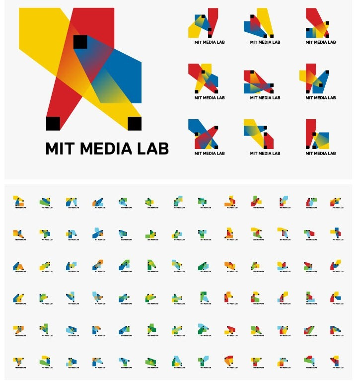 MIT Media Lab: A Logo with 40,000 Different Variations [Video]