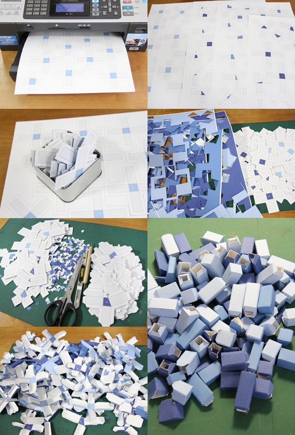 3D Paper Infographics