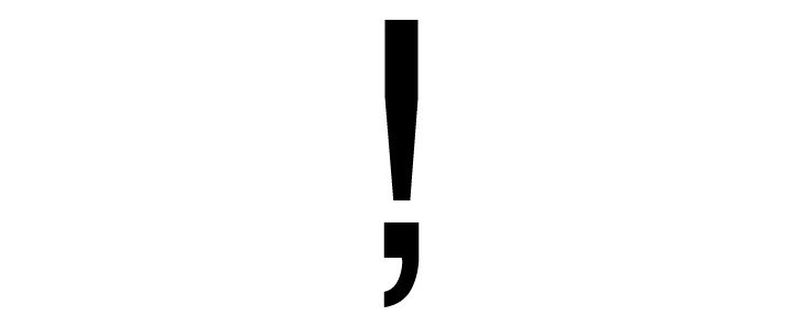 exclamation-comma