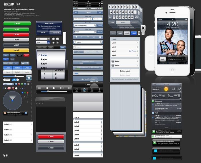iOS5-GUI-PSD