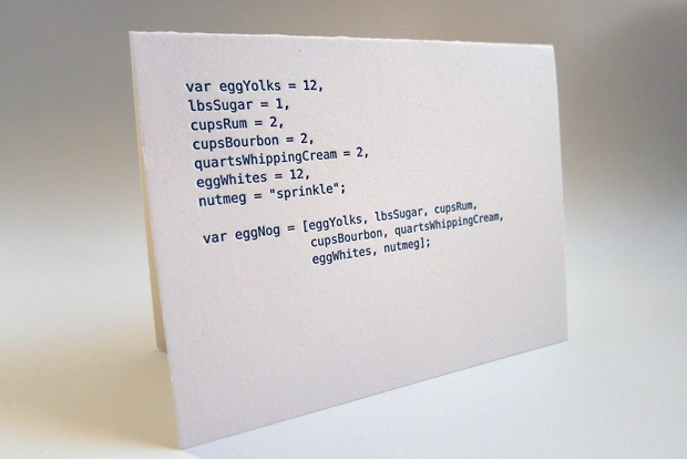 javascript-code-cards